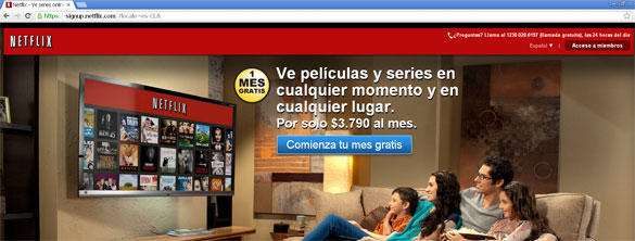 How to watch spanish netflix in us
